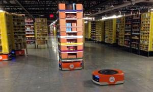 kiva robot amazon