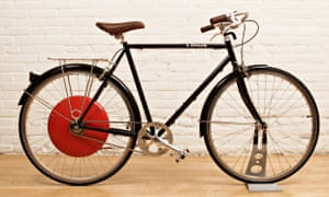 The Copenhagen Wheel can be retrofitted to almost any bicycle