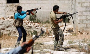 Free Syrian Army in combat