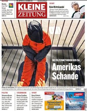 Kleine Zeitung - Amerikas Schande