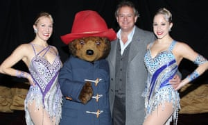 Hugh Bonneville, Paddington Bear and friends in New York.