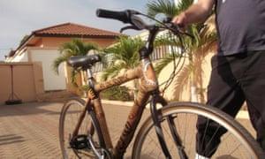 Bernice Dapaah's bamboo bike.