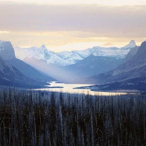 Dusk in the Rockies