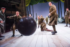 On the ball … The Christmas Truce.