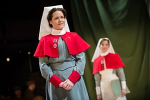 Yes Matron …Leah Whitaker in The Christmas Truce.