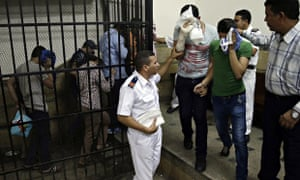 Egyptians in court after same sex wedding party