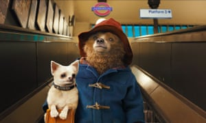 A scene from the new version of Paddington.