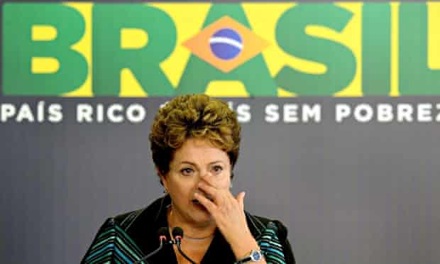 Dilma Rousseff cries at a ceremony for Brazil's Truth Commission into human rights abuses