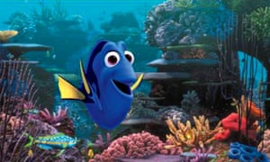 Dory from Finding Nemo.