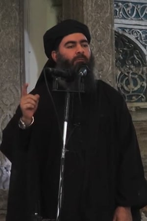 Abu Bakr al-Baghdadi, the leader of Isis.