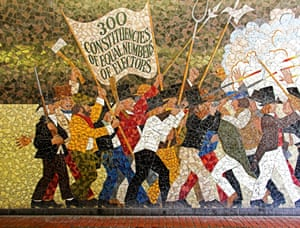 The 10 best murals culture the guardian for Chartist mural newport