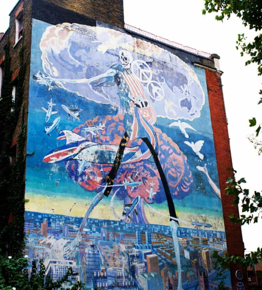 Nuclear Dawn Brian Barnes, 1981 Brixton, south-west London Mural
