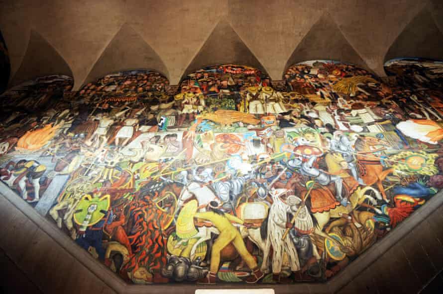 7  |  The History of Mexico Diego Rivera, 1931 Palacio Nacional de Mexico, Mexico City Mural