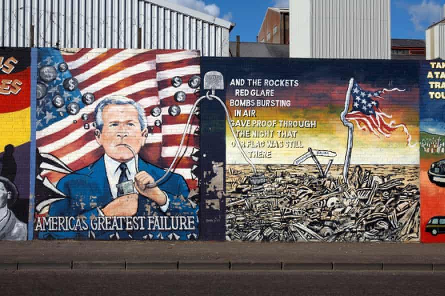 8  |  The International Wall Falls Road, Belfast, Northern Ireland Mural