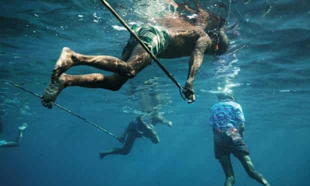 Moken freedivers