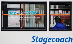 Stagecoach boss Martin Griffiths has attacked free bus fares for pensioners.