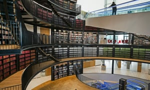 Birmingham's new library was opened last year by Malala Yousafzai, who said a city without a library was a 'graveyard'.