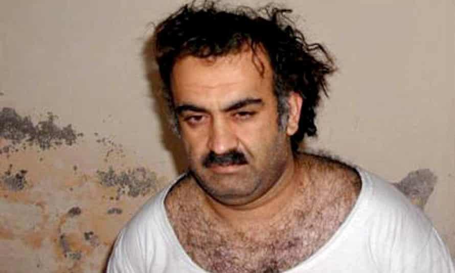 Al-Qaeda operative Khalid Sheikh Mohammed shortly after his capture, in Rawalpindi, Pakistan.