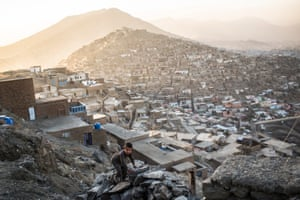 The edges of Kabul are spreading ever outwards.