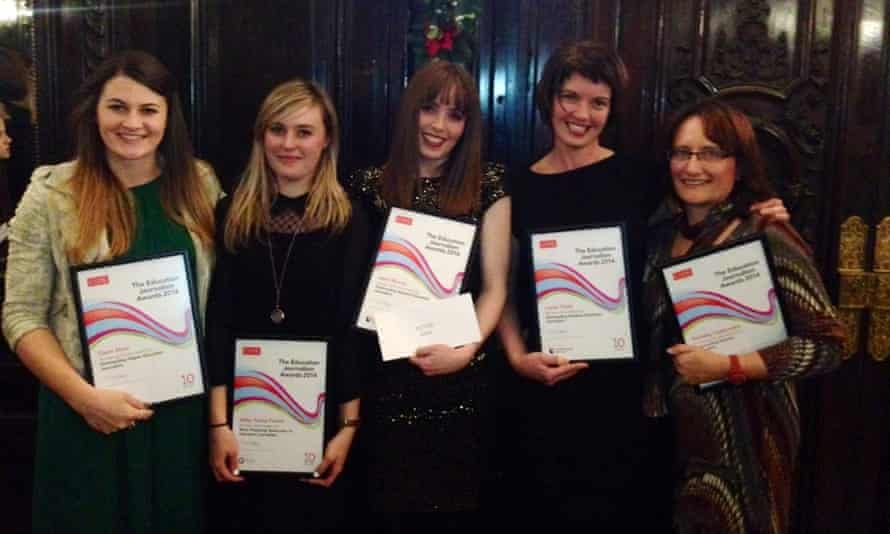 The award-winning Guardian staff