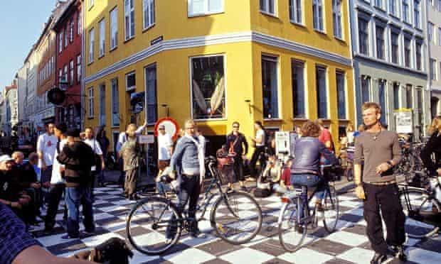 Cycling in Copenhagen's Latin Quarter