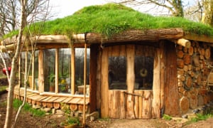 A more rustic construction, this hobbit house in the West Country is a cosy roundhouse that can sleep up to five people.