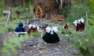 """Around the shire visitors will find lots of details including signs of magical activity, such as this clothes line of fairy outfits hanging out to dry. From £202 per night, <a href=""""http://www.homeaway.co.uk/p969762"""">homeaway.co.uk/p969762</a>"""