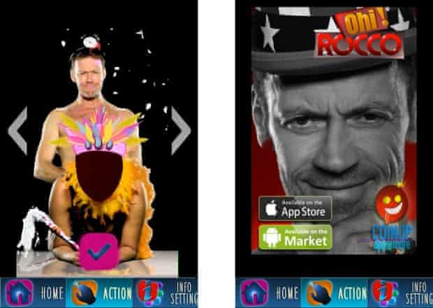 Porn star Rocco Siffredi's app was approved by Apple.