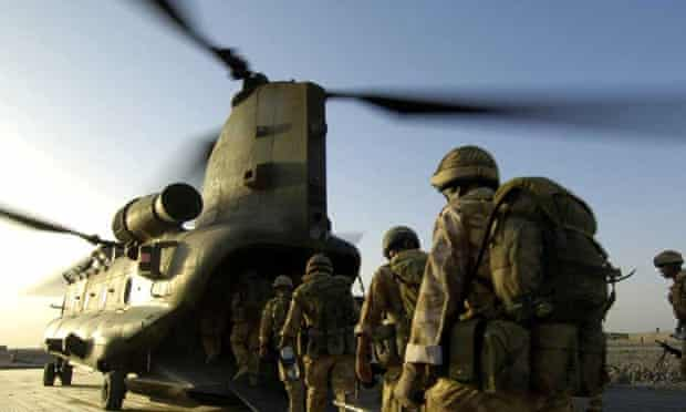 'Red-raw': a scene from  Our War: Goodbye Afghanistan.