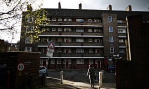 Council-run housing in Lambeth, London