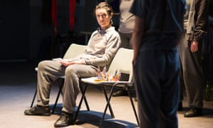 Harriet Walter as King Henry in Henry IV at the Donmar in London.