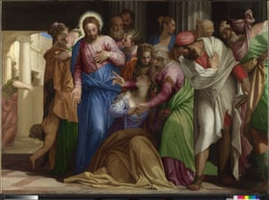 The Conversion of Mary Magdalene, about 1548, by Paolo Veronese