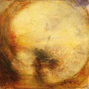 Light and Colour (Goethe's Theory) - the Morning after the Deluge - Moses Writing the Book of Genesis exhibited 1843, by JMW Turner