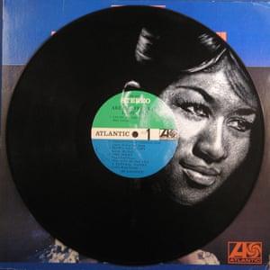 Aretha Franklin Daniel Edlen record paintings vinyl art