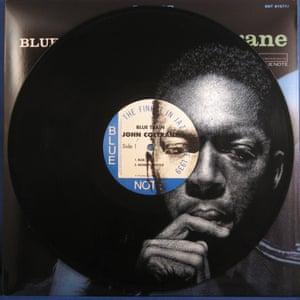 John Coltrane Daniel Edlen Record Paintings vinyl art