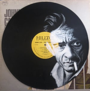 Johnny Cash Record Cover Paintings Daniel Edlen vinyl art