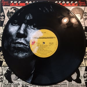 Keith Richards Record Cover Paintings Daniel Edlen vinyl art