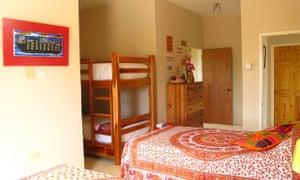 A bedroom at Jack Sprat hostel