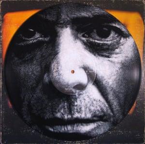 Daniel Edlen record cover paintings Lou Reed vinyl art