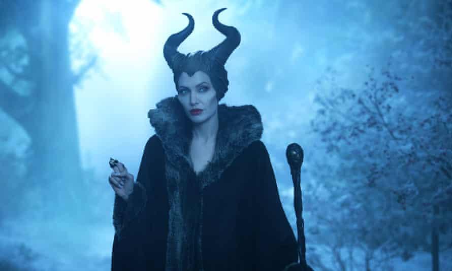 Angelina Jolie in Maleficent.