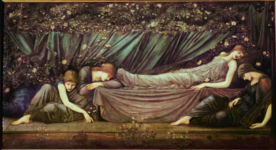 """""""The Sleeping Beauty"""", 1873-94 by Edward Burne-Jones."""