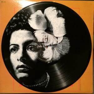 Billie Holiday Daniel Edlen record paintings vinyl art