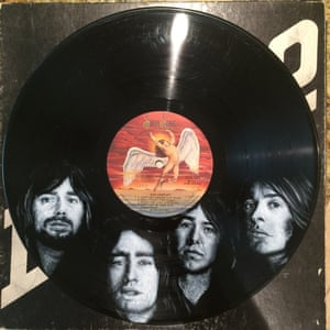 Bad Company Daniel Edlen record paintings vinyl art
