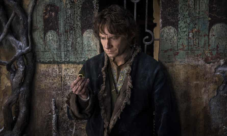 'Can I pawn this now?' ... Martin Freeman in The Hobbit: The Battle of the Five Armies