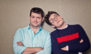 Christopher Miller and Phil Lord the writer-directors of the Lego movie.