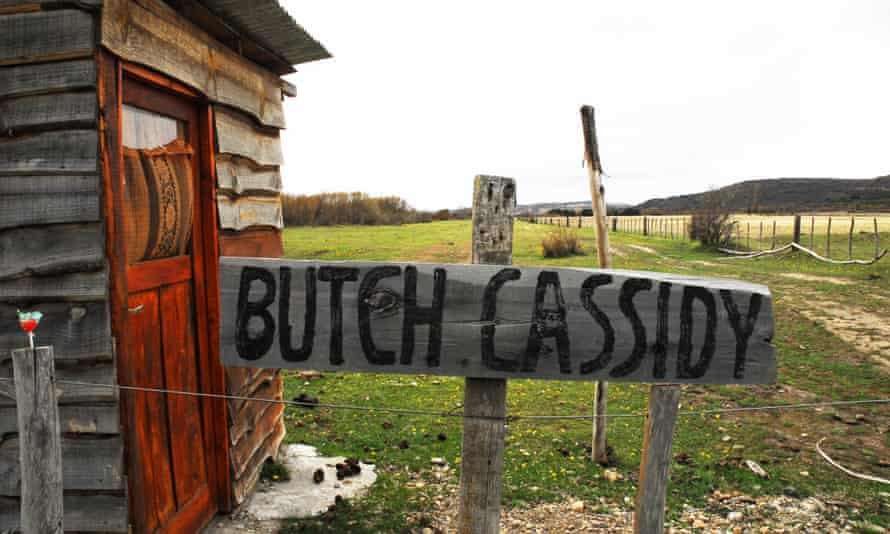 A cabin at the Butch and Sundance ranch, Cholila, Patagonia.