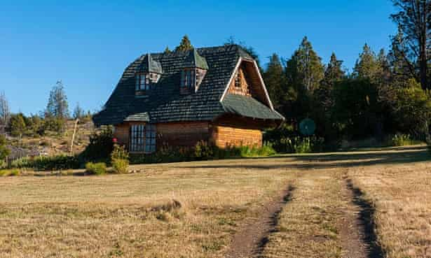 A Welsh-styled house at Chubut, Patagonia