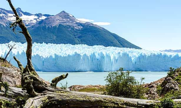 The Perito Moreno glacier, one of the most spectacular, and popular, attractions in Patagonia.