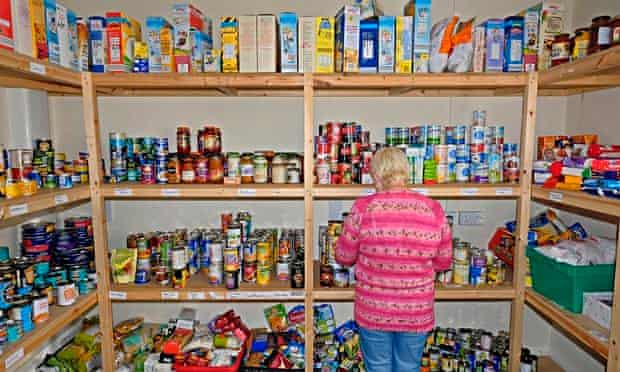 A food bank in Consett