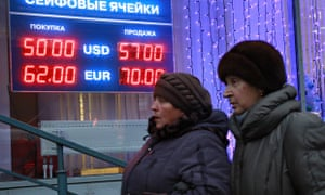 rise in russian interest rate fails to halt plunge in rouble as oil price slips again world. Black Bedroom Furniture Sets. Home Design Ideas